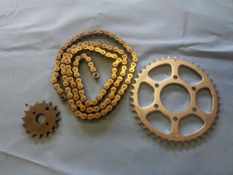 heavy duty chain and sprocket kit
