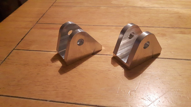 Billet Aluminium shock mounts