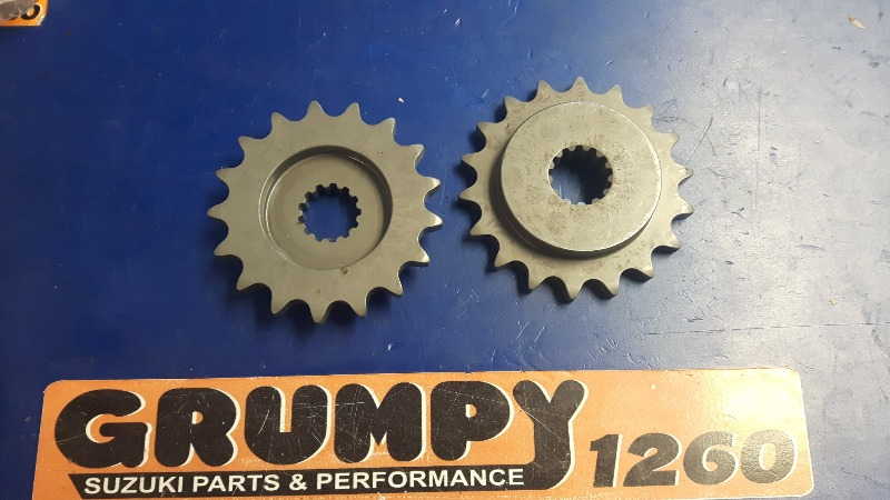 3-8th & 5-8th Offset Gbox Sprocket 530 pitch