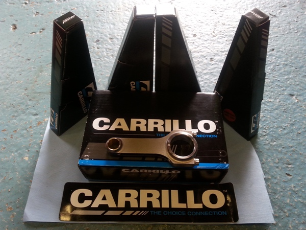 carillo forged con rod sets